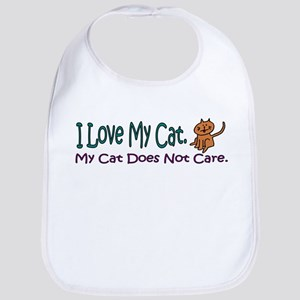 I Love My Cat... Bib