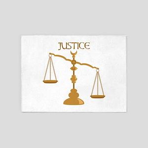 Justice 5'x7'Area Rug