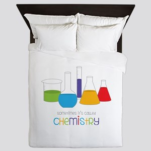 Called Chemistry Queen Duvet