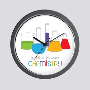 Called Chemistry Wall Clock