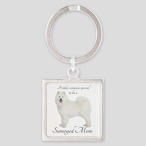 Samoyed Mom Keychains