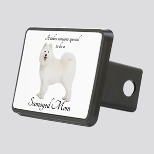 Samoyed Mom Hitch Cover