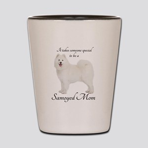 Samoyed Mom Shot Glass