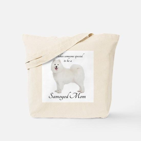 Samoyed Mom Tote Bag