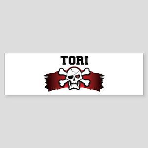 tori is a pirate Bumper Sticker