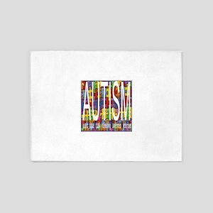 autism awareness 5'x7'Area Rug