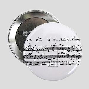 """Bach's Brandenburg 6 Concerto 2.25"""" Button"""