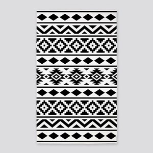 Aztec Essence (III) BW Area Rug