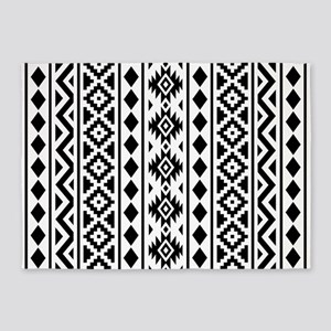 Black White Tribal Area Rugs Cafepress