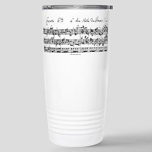 Bach's Brandenburg 6 Concerto Travel Mug