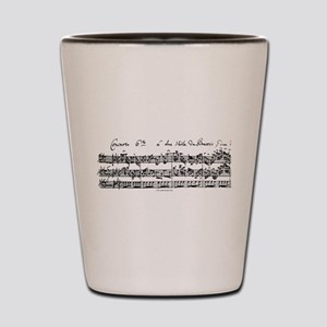 Bach's Brandenburg 6 Concerto Shot Glass