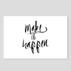 Make It Happen Postcards (Package of 8)