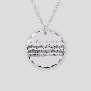 Bach's Brandenburg 6 Concerto Necklace