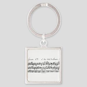 Bach's Brandenburg 6 Concerto Keychains
