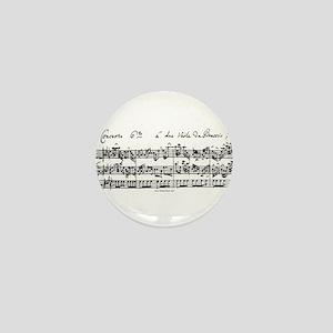 Bach's Brandenburg 6 Concerto Mini Button