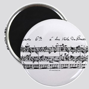 Bach's Brandenburg 6 Concerto Magnets