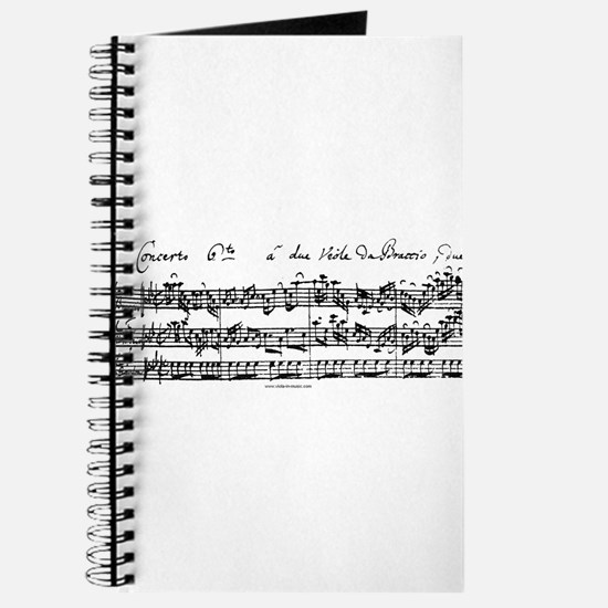 Bach's Brandenburg 6 Concerto Journal