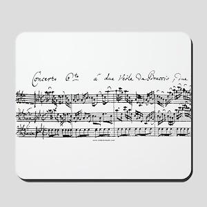 Bach's Brandenburg 6 Concerto Mousepad