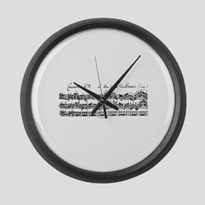 Bach's Brandenburg 6 Concerto Large Wall Clock