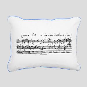 Bach's Brandenburg 6 Concerto Rectangular Canvas P