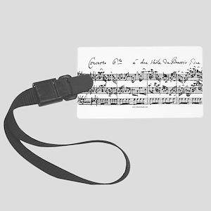 Bach's Brandenburg 6 Concerto Luggage Tag
