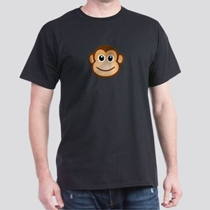 Smiling Monkey Face T-Shirt