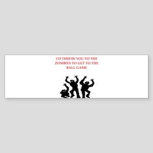 ball game Bumper Sticker