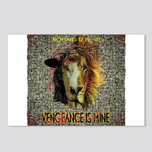 VENGEANCE IS MINE Postcards (Package of 8)