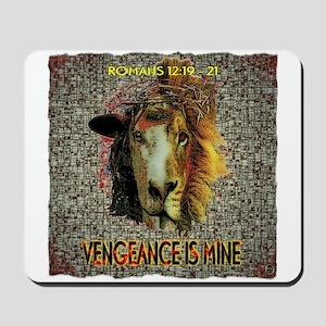 VENGEANCE IS MINE Mousepad