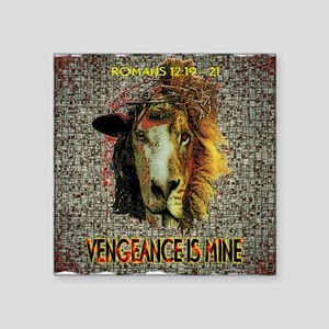 VENGEANCE IS MINE Sticker
