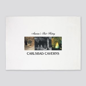 Carlsbad Caverns Americasbesthistor 5'x7'Area Rug