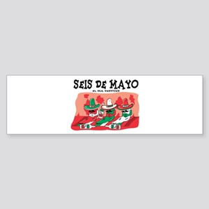 Seis de Mayo Bumper Sticker