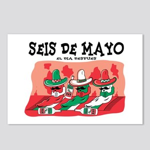 Seis de Mayo Postcards (Package of 8)