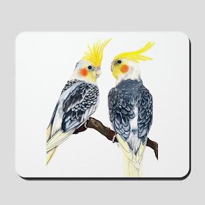 Cockatiel Mousepad