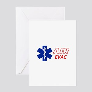 Air Evac Greeting Cards