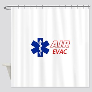 Air Evac Shower Curtain