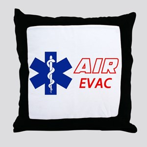 Air Evac Throw Pillow