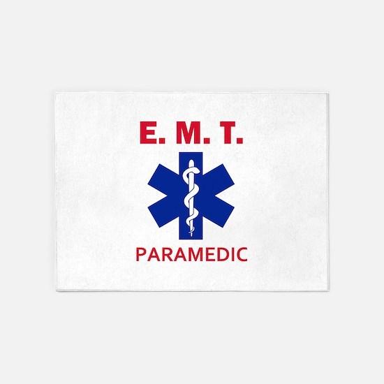 EMT Paramedic 5'x7'Area Rug