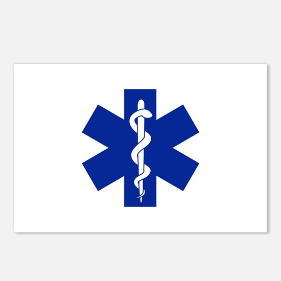 Star Of Life Postcards (Package of 8)