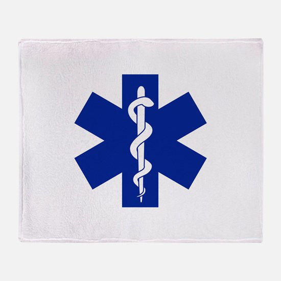 Star Of Life Throw Blanket