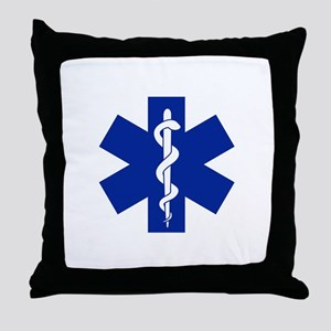 Star Of Life Throw Pillow