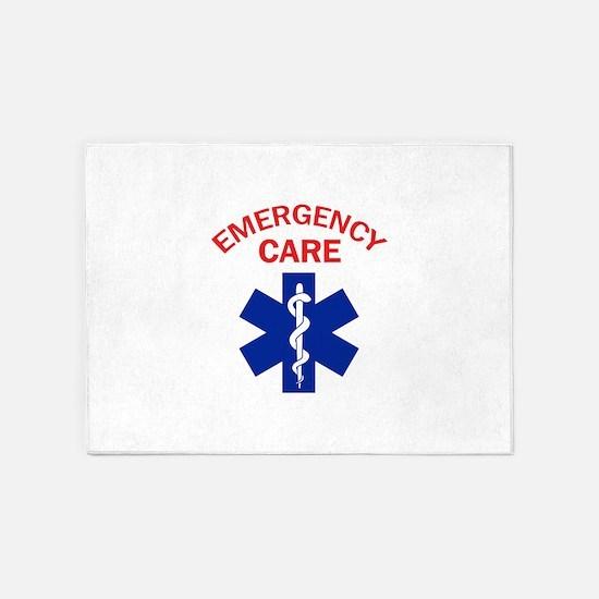 Emergency Care 5'x7'Area Rug