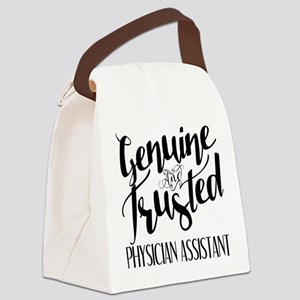 Genuine and Trusted Physician Ass Canvas Lunch Bag