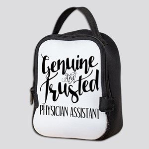 Genuine and Trusted Physician A Neoprene Lunch Bag