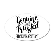 Genuine and Trusted Physicia Wall Decal