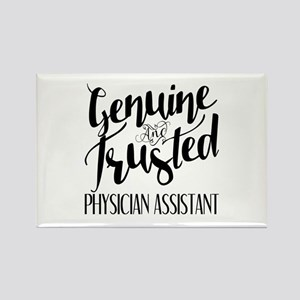 Genuine and Trusted Physician Ass Rectangle Magnet