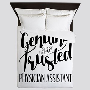 Genuine and Trusted Physician Assistan Queen Duvet