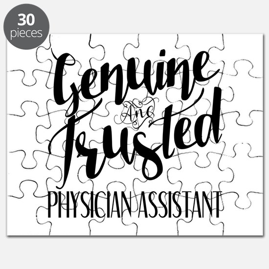 Genuine and Trusted Physician Assistant Puzzle