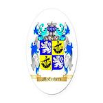 McEachern Oval Car Magnet
