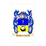 McDuffie Sticker (Rectangle 10 pk)